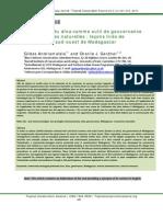 L'utilisation du dina comme outil de gouvernance des ressources naturelles