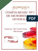 Microbiologie générale