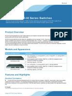 Huawei S6720-HI Series Switches Brochure