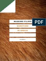 Massimo Filippi - Questioni di specie