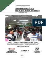 CNA 2009 PLATAFORMA POLÍTICA