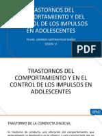 El TRASTORNO DE CONDUCTA DISOCIAL - HABITOS - HURTOS, MENTIRAS