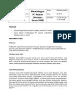 15 PC Router (Windows Server 2003)