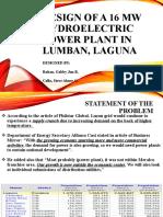 16-MW-HYDROELECTRIC-POWER-PLANT-IN-LUMBAN-LAGUNA.pptx