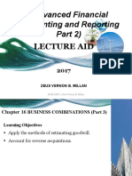CHAPTER 16 BUSINESS COMBINATIONS -           PART 3