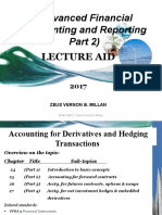 CHAPTER 24 ACCTG. FOR DERIVATIVES &           HEDGING TRANSACTIONS - PART 1