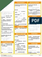 Caret Cheatsheet Portuguese