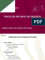 TIPOS DE PRUEBA DE PRESIÓN