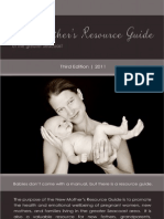 2011 New Mother's Resource Guide