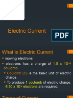 2. Electric Current