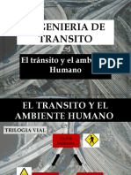 el transito y el ambiente humano