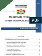1. PLANES Y PROGRAMAS EDUCACION INICIAL ok