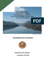 Historia geológica de LAS ARRIBES, SALAMANCA. USAL 2009