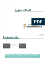 Transferable Letters of Credit