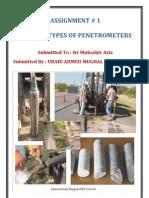 Types Of Penetrometers..(Ubaid Ahmed Mughal)