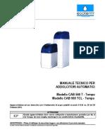 Addolcitori CAB 560...T (BNT65) Rev.04