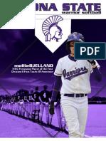 Winona State Softball 2011 Media Guide