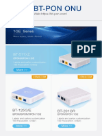 BT-PON ONU Catalog