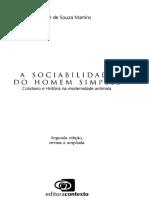 MARTINS, José - A sociabilidade do homem simples (Cap 6)