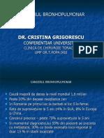 CANCERUL BRONHOPULMONAR-CURS 2