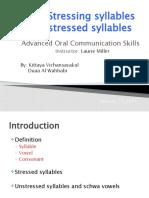 Word Stress in English