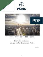 Bilan des émissions de gaz à effet de serre de Paris_COMPLET_février2020_consolidée
