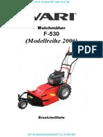 Mulchmaeher F-530 2006