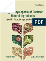 leung's encyclopedia of common natural ingredients          2010