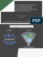 Project Prioritization  - Sustaining CAPEX