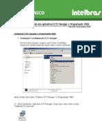 Manual de instalação Prog versão 1.4.10