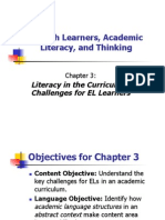 English Learners Academic Literacy and Thinking for Princ meeting