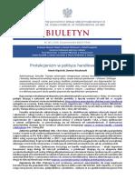 Biuletyn PISM nr 141 (1714) 16 października 2018 r