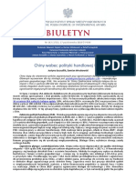 Biuletyn PISM nr 142 (1715) 17 października 2018 r