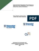 LA GAMIFICACIÓN COMO ESTRATEGIA PEDAGÓGICA PARA ESTIMULAR LA COMPETENCIA INFORMACIONAL EN EL APRENDIZAJE   DE LAS CIENCIAS NATURALES DE LA BÁSICA SECUNDARIA
