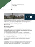 + Plano Geral -Plano Orientador do Processo de Ensino e Aprendizagem