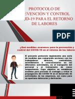 PROTOCOLO DE PREVENCIÓN Y CONTROL COVID-19 PARA EL.pptx