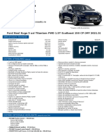Oferta - Ford Noul Kuga 5 usi Titanium FWD 1.5T EcoBoost 150