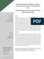 Achados fluoroscópicos da deglutição