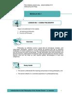 Philo module 1_content
