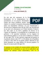 Sergio A. Valls H La Cortre y la Reforma del Estado