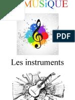 La musique presentation