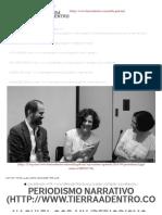 Periodismo narrativo - Juan Villoro y Alma Guillermoprieto
