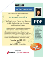 Beverly Chin at NCEA!