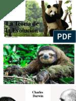 La Teoría de  la evolución (1)