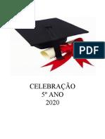 ROTEIRO. 5º ANO. CELEBRAÇÃO. 2020