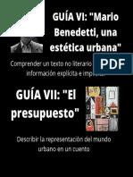 GUÍA VI_ _Mario Benedetti, una estética urbana_