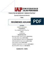 TRABAJO 9 - ADUANERO - UAP FILIAL HUANCAYO