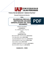 TRABAJO 12 - ADUANERO - UAP FILIAL HUANCAYO