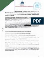Resolución DIGEIG No. 06-2020
