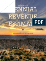 Texas Biennial Revenue Estimate, 2022-2023